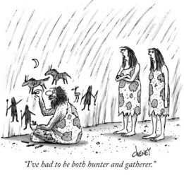 tom-cheney-i-ve-had-to-be-both-hunter-and-gatherer-new-yorker-cartoon